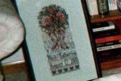 wedding sampler, 2000