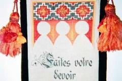 chevalier tapestry, 2001