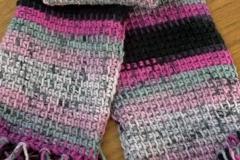 crochet, scarf, 2012