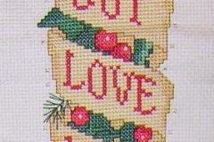 Christmas banner, 1991