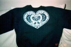 Gma's sweatshirt, 1997